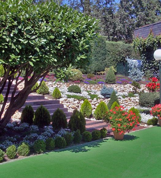 rocalla jardines